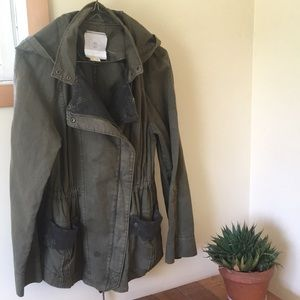 Anthropologie HEI HEI Cargo Jacket sz S